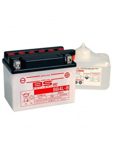 Batería BS Battery YB4L-B (Fresh Pack)