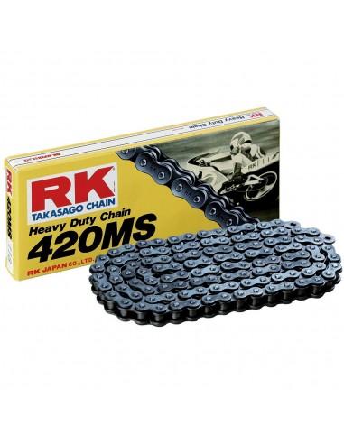 Cadena RK 420MS con 140 eslabones negro